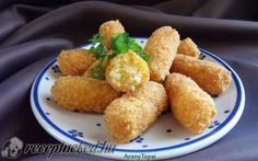Sajtos rizskrokett recept fotóval Ethnic Recipes, Food, Essen, Meals, Yemek, Eten