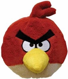 Angry Birds Stofftier 1 - kleiner roter Vogel