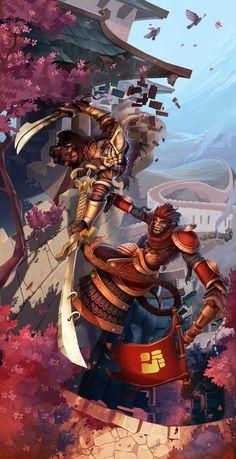 Yi + Wu kong by Anarki3000 League of Legends vêtements homme en france http://www.lolvetements.com/