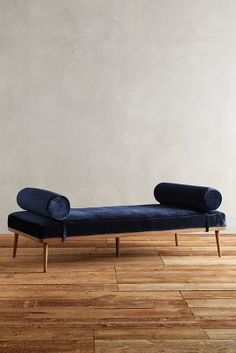 Anthropologie Slub Velvet Darcy Daybed