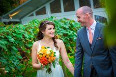 Gorgeous couple, gorgeous flowers by Ye Olde Yardley Florists, and gorgeous wedding photography    Juliana Laury Photography   Philadelphia and Bucks County Wedding Photography