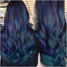 Galaxy hair.