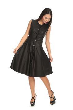ac74085036243 👗Siyah Deri Elbise 🏷110₺ yerine %40 indirim ile sadece 66₺ ℹ️36