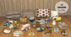 Mio — 8-3 Studio Conversions TS2-TS4 24 meshes; magazine… | Sims 4 Updates -♦- Sims 4 Finds & Sims 4 Must Haves -♦- Free Sims 4 Downloads