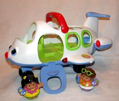 Fisher Price Lil' Movers Airplane & People Music, Lights, Wobbly Kids #FisherPrice