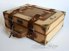 *ClayGuana: Vintage Suitcase pattern by Laura Denison