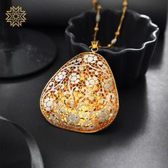 """""""Flowers don't tell, they show."""" – Stephanie Skeem Pendant Set, Gold Pendant, Pendant Jewelry, Cameo Pendant, Mughal Jewelry, Jewellery, Manubhai Jewellers, Diamond Necklace Set, Gold Ring Designs"""