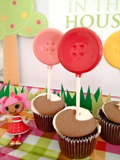 "Photo 2 of 6: Lalaloopsy Party / Birthday ""Cute As A Button"" 