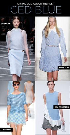 SS13 Colour Trends Iced Blue