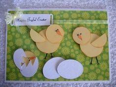 Die cut chick (Card-Making-Magic)