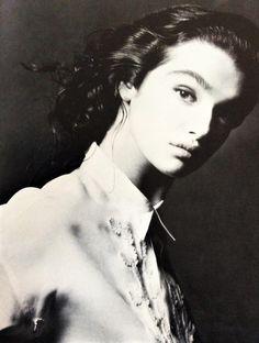 Rachel Weisz photographed by Robert Erdmann, 1987.