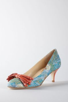 I would adore this shoe!  Butter Sandlot Closed Toe Pump