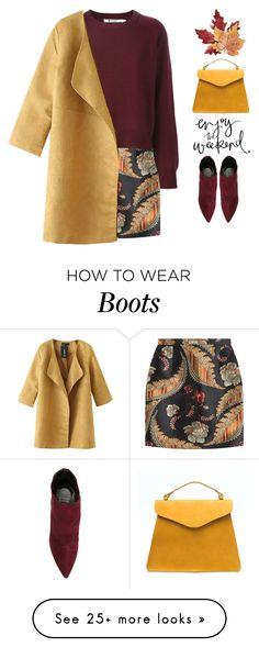 """""""Untitled #809"""" by intellectual-blackness on Polyvore featuring Dsquared2, Chicnova Fashion, Stuart Weitzman and Croft & Barrow"""
