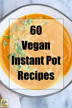 Try these 60 Vegan Instant Pot Recipes in your pressure cooker! Soups and chili, main dishes like tacos and meatballs, and more. One Pot Dishes, One Pot Meals, Main Dishes, Hot Pot, Casserole Dishes, Cooking Tips, Instant Pot, Cooker, Chili