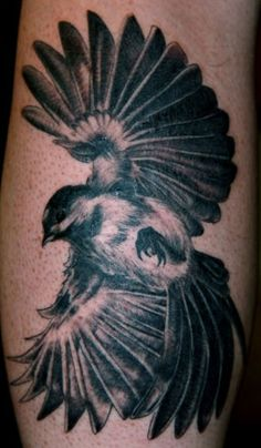 Beautiful bird tatt