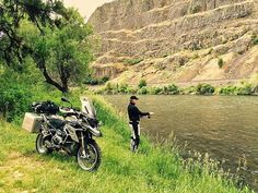 Today's assignment involves @BMWMotorrad Motorcycles and fly fishing the Yakima River. You can read all about it in BMW Owners News Magazine in the near future.  via @paulguillien #Touratech #MadeForAdventure #R1200GS #BMW #BMWMotorrad #ZegaMundo