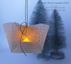 Pootles Advent Countdown #5 Adorable Hanging Lumiere Tutorial Illuminated