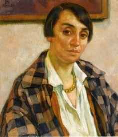 Theo van Rysselberghe Portrait of Elizabeth van Rysselberghe 1926
