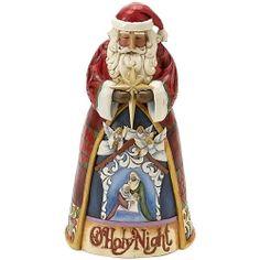 Jim Shore Christmas Santa w Nativity Scene 4017656 | eBay