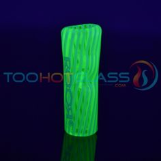 www.TooHotGlass.com - ILLUMINATI UV Glass Phuncky Feel Tips with Collectors Tin - TooHotGlass Exclusive with Roor