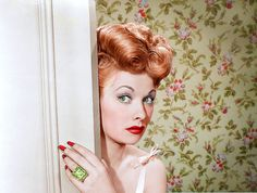 """Style and beauty icon, Lucille Ball.] ~~ """"modcloth"""""""