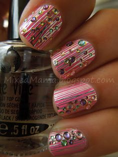 Sephora Nail Bling in Pretty in Pink