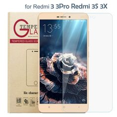 High Quality Premium XiaoMi redmi 3 Glass redmi 3 pro /redmi 3s / redmi 3s pro 3x GLass Screen Protector Tempered Glass Film