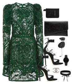 """Untitled #2991"" by theaverageauburn on Polyvore featuring Dsquared2, Elie Saab, Aspinal of London, Witchery, Ray-Ban, CLUSE and Boohoo"