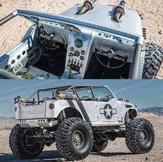 """""""Toma Hauk"""" Jeep Wrangler"""
