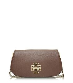 In love with this purse!   Tory Burch Britten Clutch $350 #ToryBurch