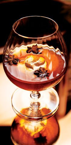 The Sazerac is a New Orleans classic. It's as much about the aromatic absinthe rinse as it is the Cognac and rye.