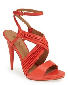pleated leather strap heels  http://rstyle.me/n/jwbihpdpe