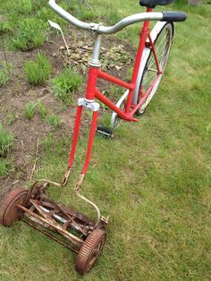 Take the magical bike mower for a spin around the meadow at Wildflower Farm
