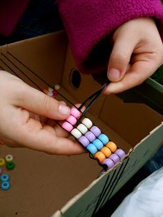 Acorn Pies: Bead Weaving With Children