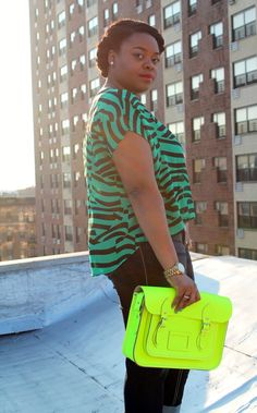 {Green with Envy} REAL Curvy Girl inspiration from Christina Brown, her blog: www.LoveBrownSugar.com