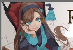 I still love reverse Mabel fan art especially with Will he's like a little brother I just want to protect him Reverse Gravity Falls, Gravity Falls Au, Reverse Falls, Reverse Pines, Fall Tumblr, Grabity Falls, Mabill, Fanart, Mabel Pines