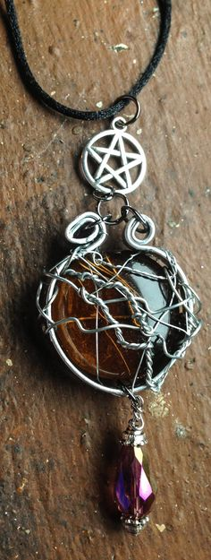 The Wisdom of Bobby Singer Necklace Supernatural by Eldwenne, $35.00