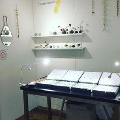 We're just about to start the private view! Here I am well here's my stand 105 in the Soane Hall. (I'm camera shy!) http://ift.tt/2dxVMuV @tuttonandyoung  #tamaragomezjewellery #rawluxury #spiritinspired #rawbeauty #ceramics #craftanddesign #londondesign #roughluxe #boholuxe #artisanjewellery #artisanjewelry #goldsmith #cockpitarts #studiolife #craftfair #onemarylebone #madeinlondon #turningearth #studiolife #girlboss