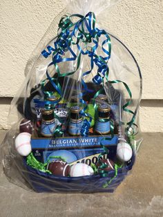 Beer box easter basket diy pinterest easter baskets easter baseball and football easter basket for the men in my life negle Choice Image