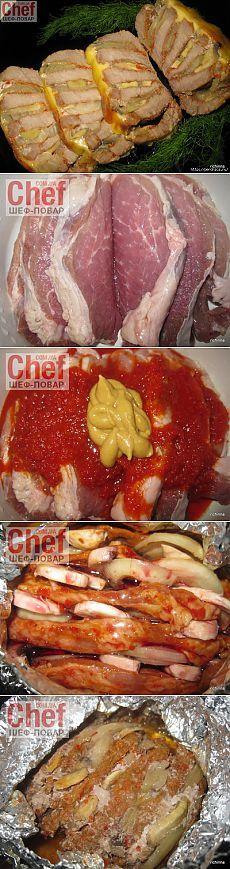 liveinternet.ru My Recipes, Cooking Recipes, Rind, Love Food, Steak, Grilling, Pork, Food And Drink, Beef