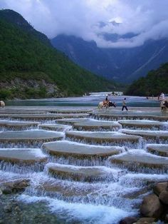 Blue Moon Valley (also called Shika Snow Mountain), southwestern Shangri-La, China