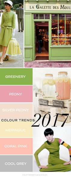 Pantone Greenery – Colour of the year 2017 » Halftone Studio
