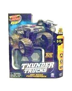 Air Hogs Xs Motors Thunder Trucks Coupe Grey by Spin Master. $14.99. From the Manufacturer                Conquer any terrain with these micro-sized remote control Monster Trucks!
