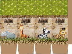 OLÁ AMIGAS! Hoje vamos viajar nesse lindo kit Safari que nossa querida amiga Danitiele Cotrin Parra enviou. Convite Bandeirinha ... Deco Jungle, Jungle Party, Safari Party, Safari Theme Birthday, Birthday Party Themes, Teddy Pictures, Birthday Cartoon, Safari Decorations, Animal Party