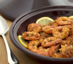 Spicy Moroccan Shrimp Tagine Recipe