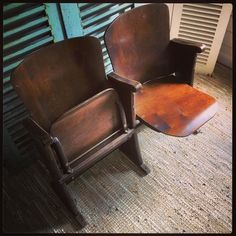 Belgium 2 seater cinema bank Fibrocit - SOLD #vintageboutique #vintageshop #eastgrinstead #lovinglymade #sussex