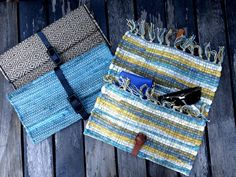 Upcycled No-Sew Clutch From a Placemat and Belt | eHow