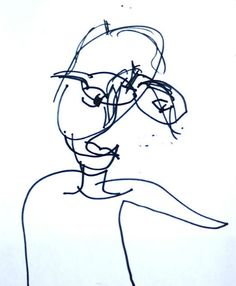 blind contour drawing  is an effective (and very funny) drawing exercise for kids   Artchoo.com