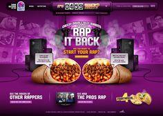 Taco Bell Site Redesign - Killahgrafikz™   Art Direction & Design