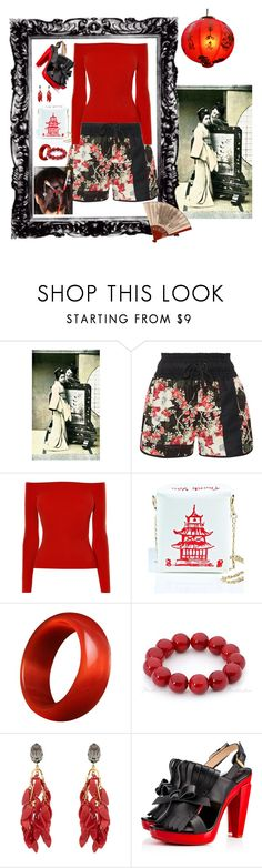 """""""Featured Items #2"""" by stormysmom on Polyvore featuring rag & bone, Karen Millen, Marni and Christian Louboutin"""